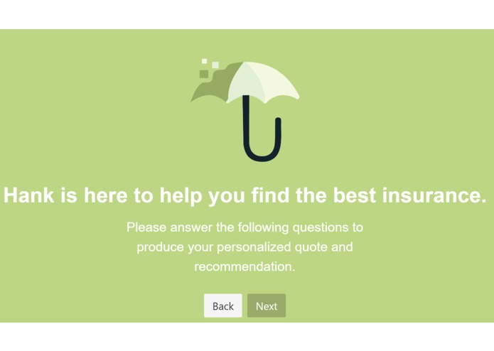 Hank: Your health insurance advisor – screenshot 1
