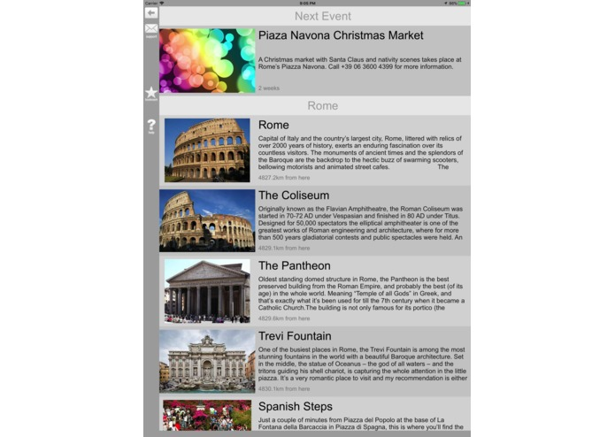 Italy Travel Guide – screenshot 1