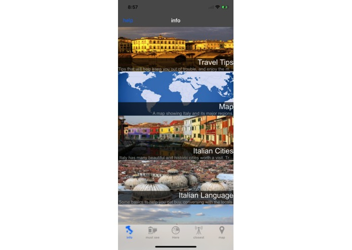 Italy Travel Guide – screenshot 3