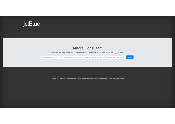 JetBlue Airline Consultant – screenshot 1