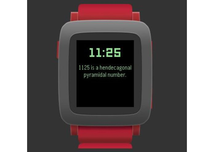 math-facts-watchface – screenshot 1