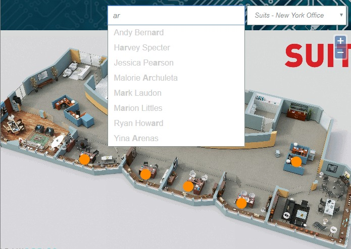 Office Floor Plan Navigator – screenshot 3