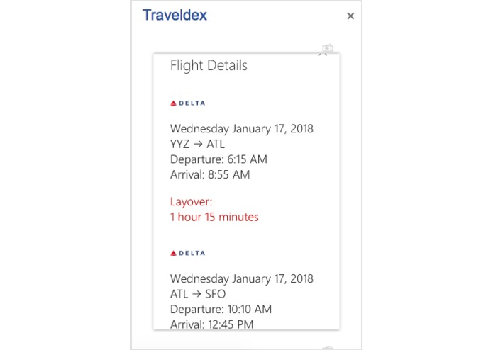 Traveldex – screenshot 4