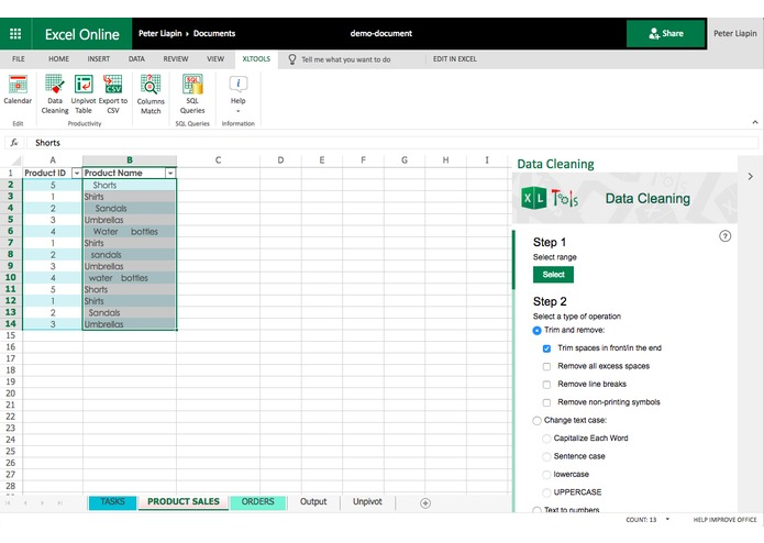 XLTools Suite for Excel – screenshot 2