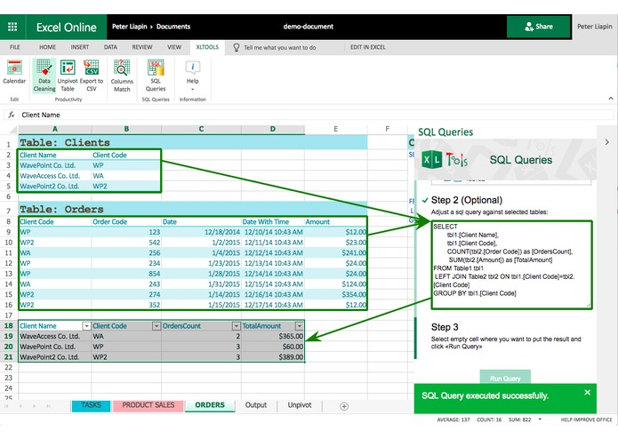 XLTools Suite for Excel – screenshot 3