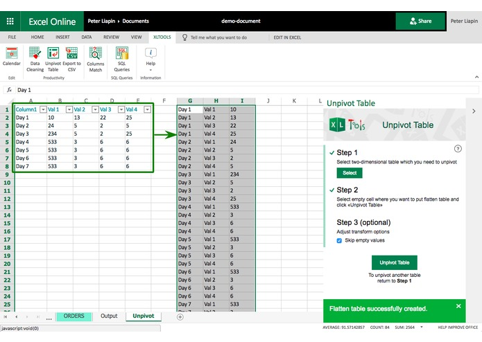XLTools Suite for Excel – screenshot 4