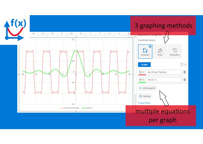 Equation Grapher – screenshot 1