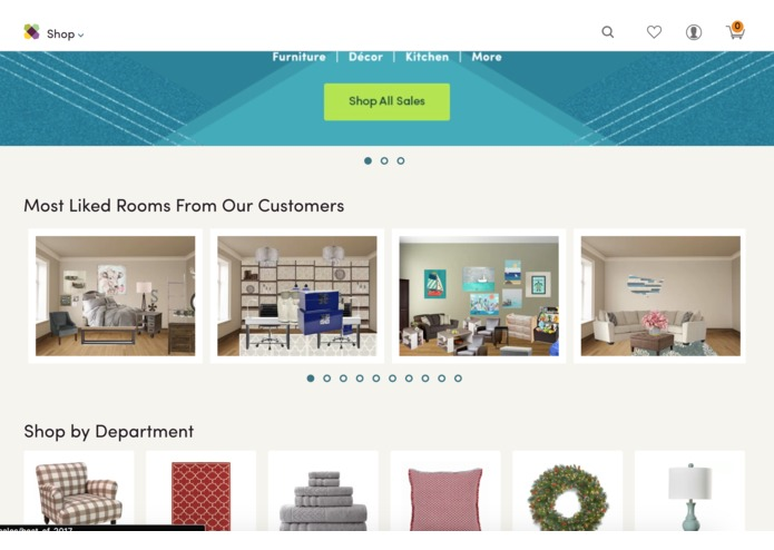 Room Planner Inspiration Feed – screenshot 1