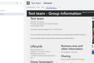 Using Graph API to build better work context in Teams