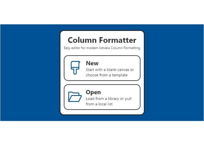 ColumnFormatter – screenshot 1
