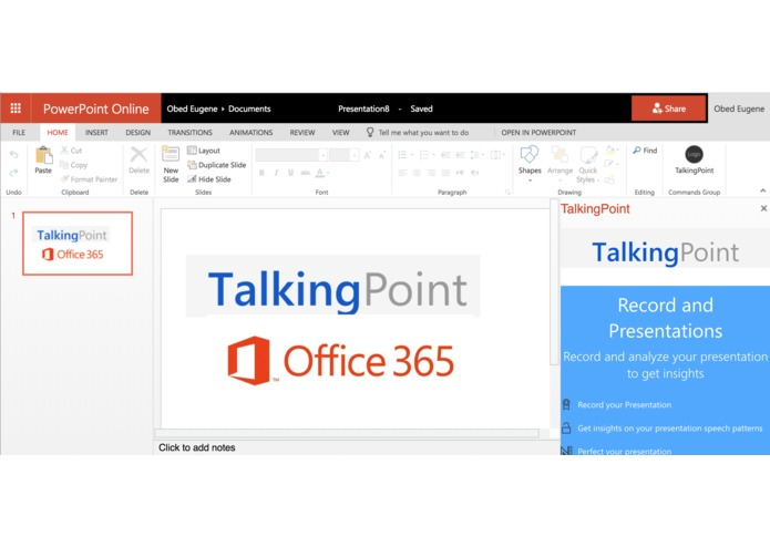 TalkingPoint – screenshot 5