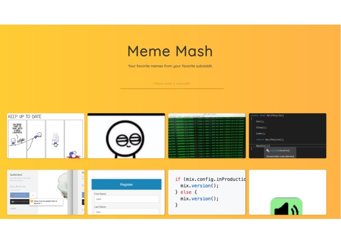 MemeMash – screenshot 1