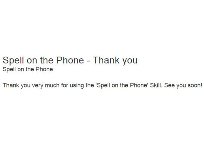 Spell on the Phone – screenshot 4