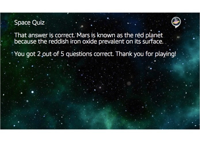 Space Quiz – screenshot 2