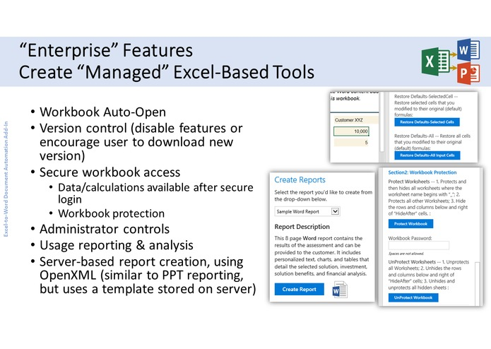 Excel-to-Word Document Automation Add-in – screenshot 9