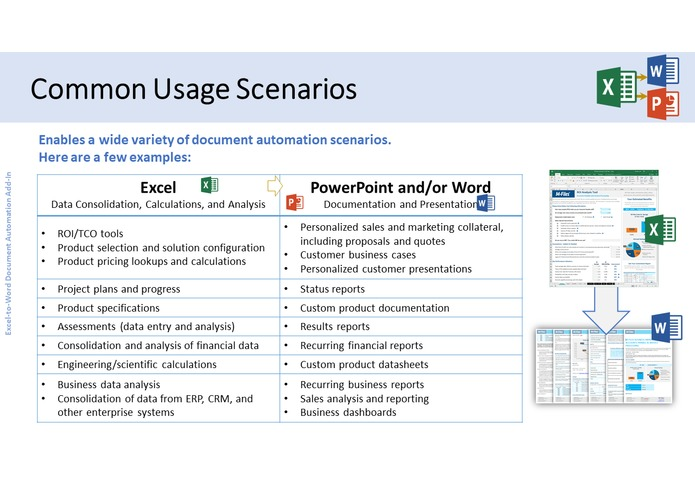 Excel-to-Word Document Automation Add-in – screenshot 6