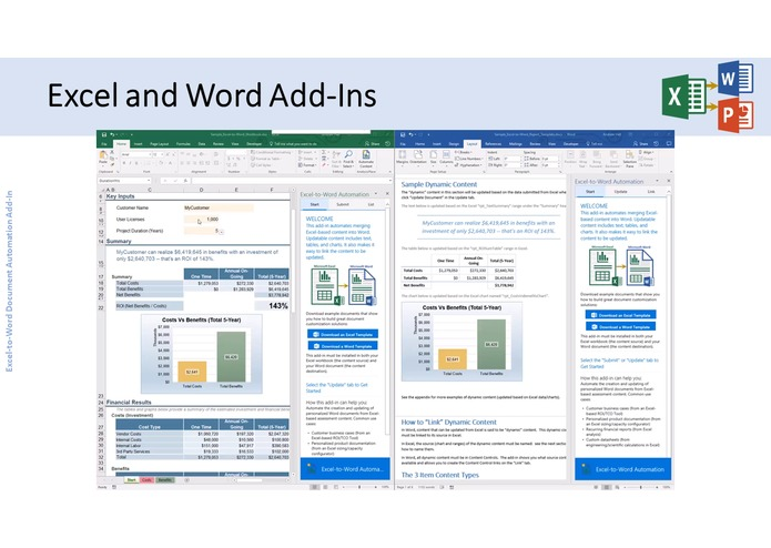 Excel-to-Word Document Automation Add-in – screenshot 4