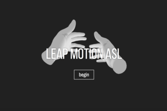 Leap Motion ASL