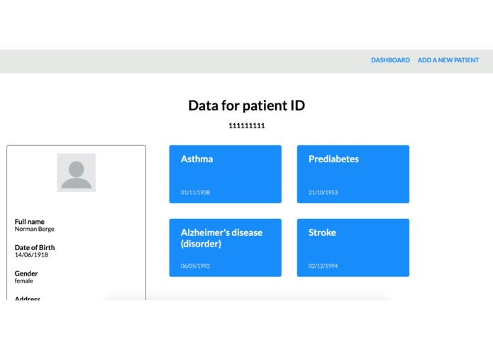 Medical Blockchain – screenshot 1