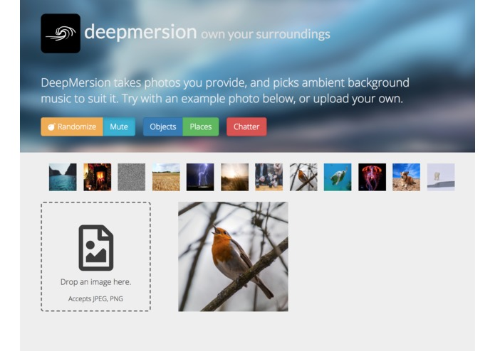 deepmersion – screenshot 2