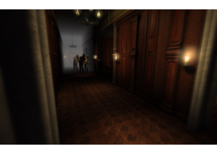 GLAM: The Responsive Horror Game – screenshot 1