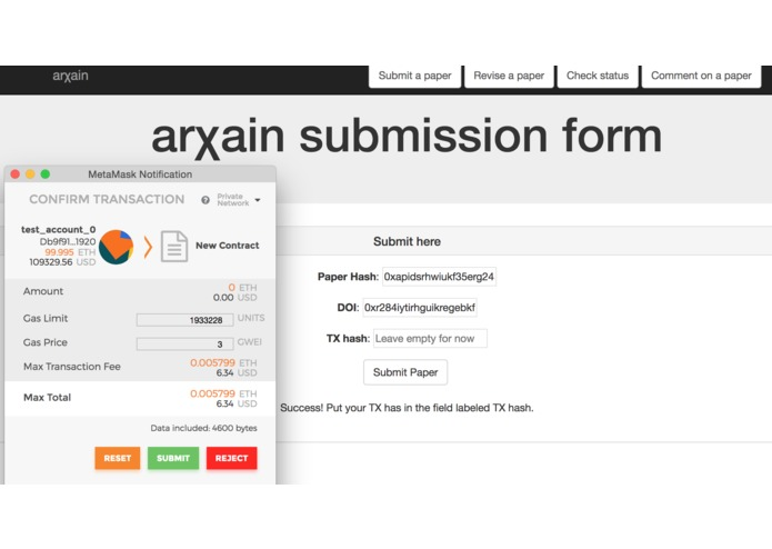 arXain – screenshot 2
