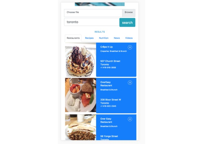 Food Wikipedia – screenshot 2