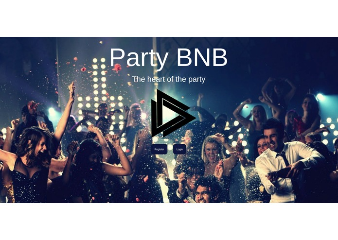 PartyBnB – screenshot 1
