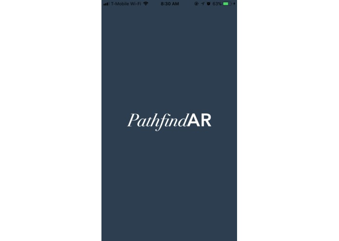 PathfindAR – screenshot 1