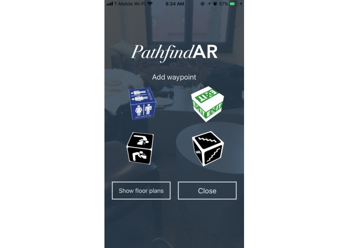 PathfindAR – screenshot 2