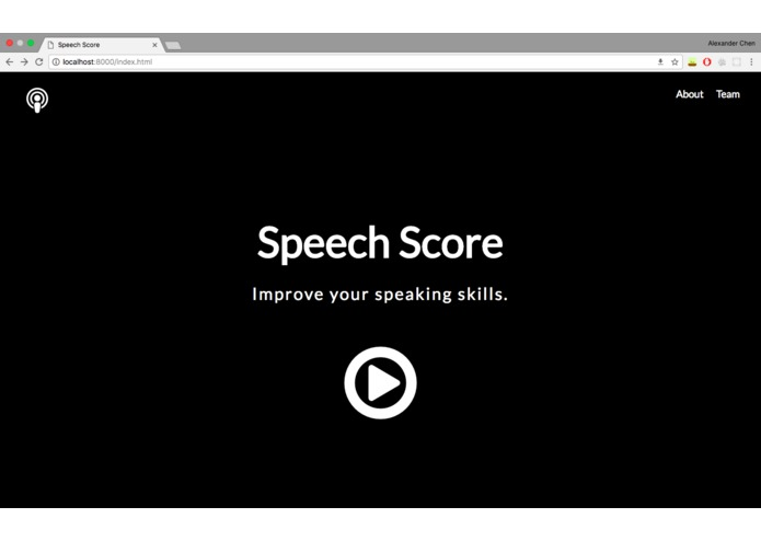 Speech Score – screenshot 1