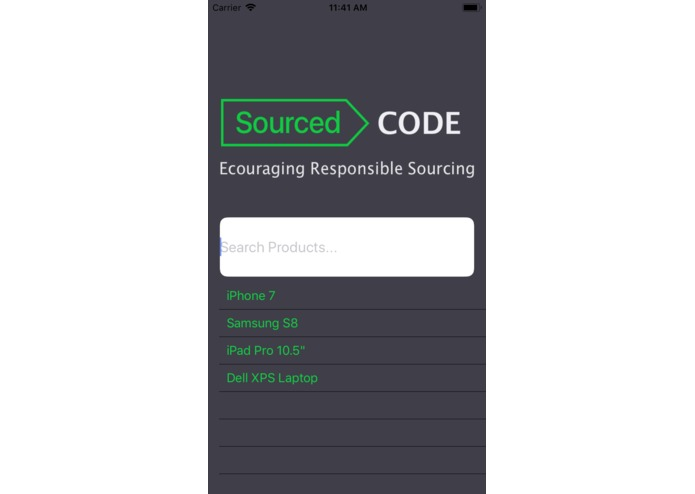 SourcedCode – screenshot 1
