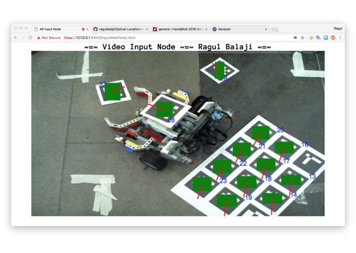 BW - Optical Localisation Plus Robotics – screenshot 1