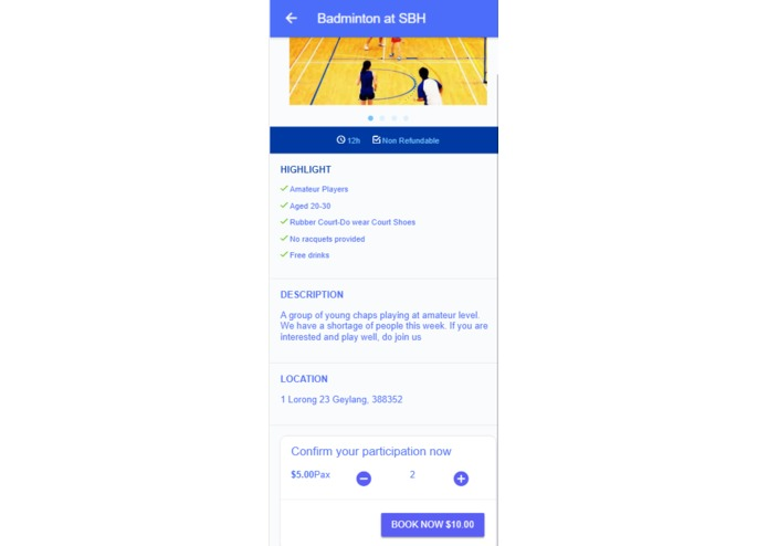 BD - GrabSport – screenshot 2