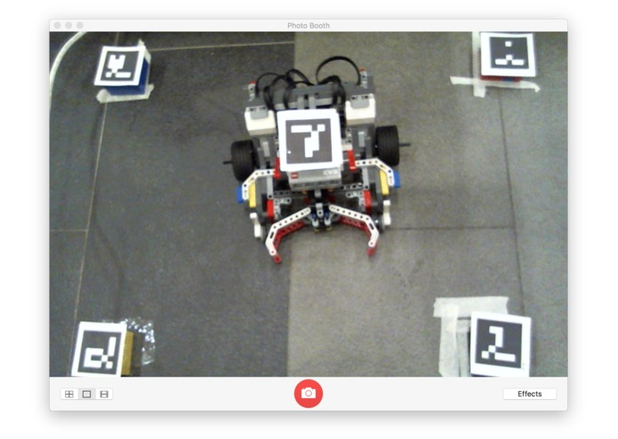 BW - Optical Localisation Plus Robotics – screenshot 2