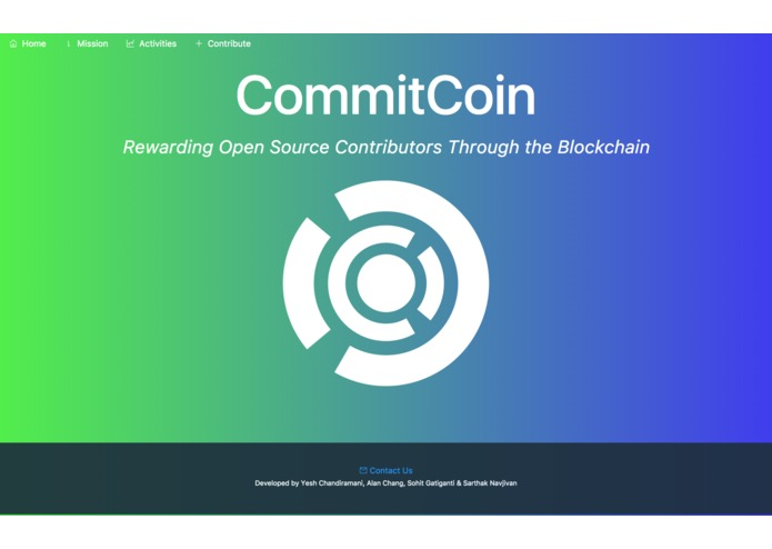 PJ - CommitCoin – screenshot 1