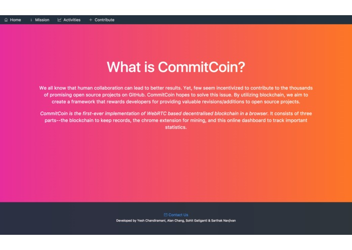 PJ - CommitCoin – screenshot 2
