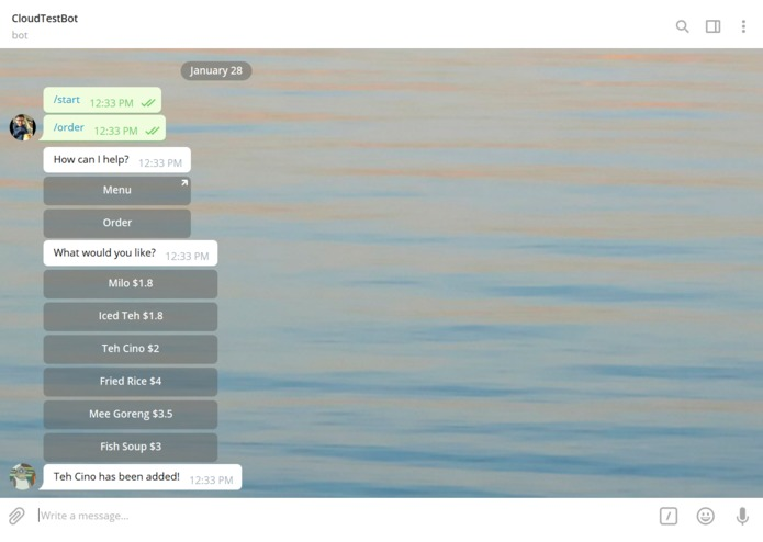 AF - Supper Order Bot – screenshot 1