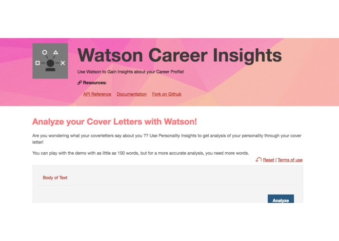 Personality Insights for Careers – screenshot 1