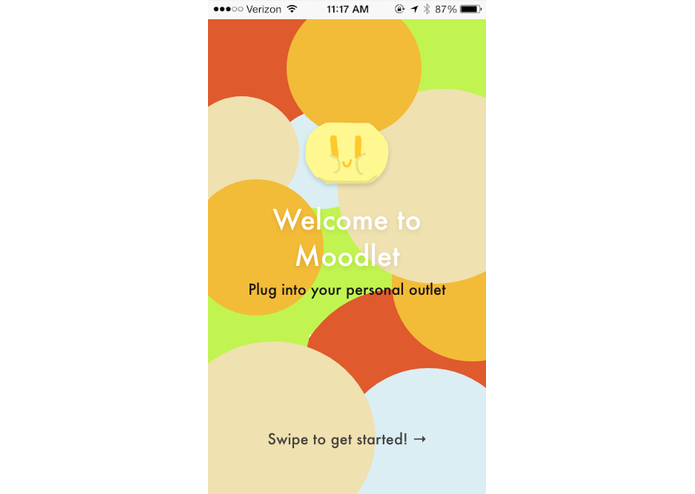 Moodlet – screenshot 1