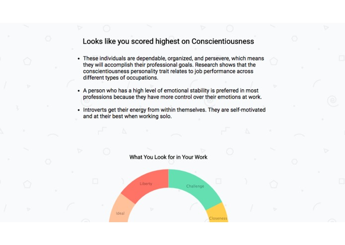 Personality Insights for Careers – screenshot 10