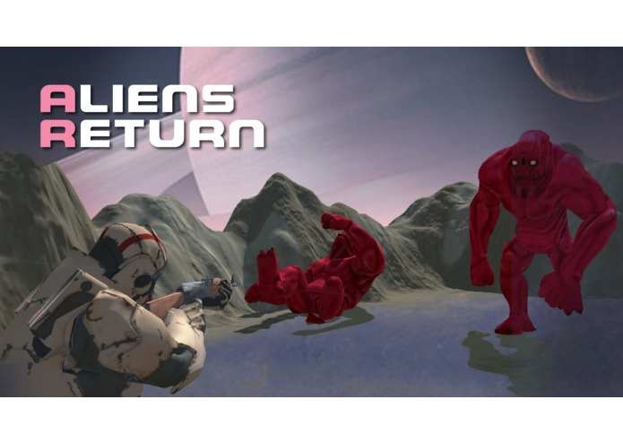AliensReturnAR – screenshot 1
