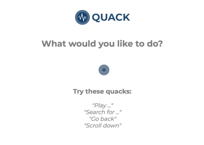 Quack - Voice Controlled Action Automation for Chrome – screenshot 2