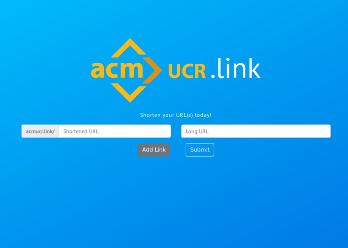 ACM@UCR Link – screenshot 1
