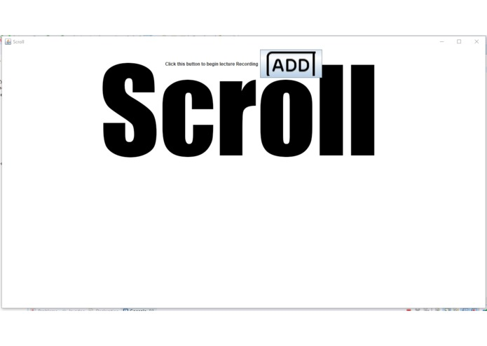 Scroll – screenshot 1