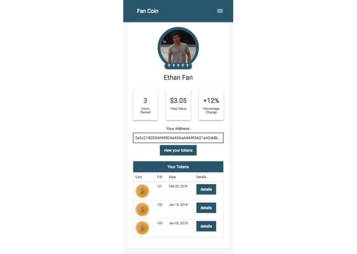Fan Coin – screenshot 2