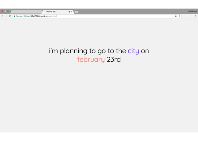 PlannrBot – screenshot 5