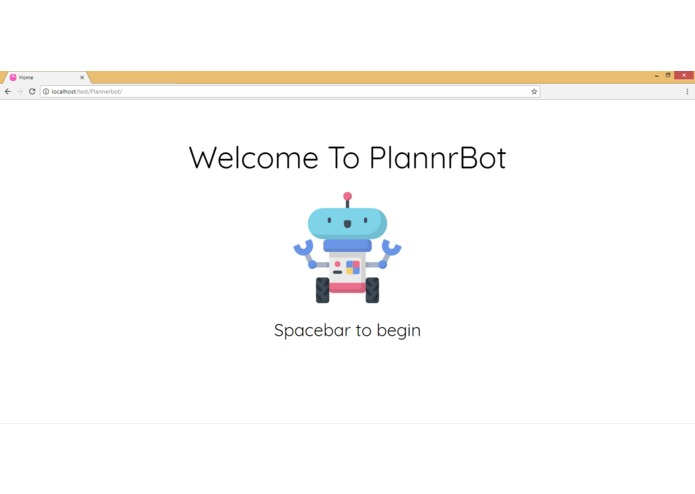 PlannrBot – screenshot 1