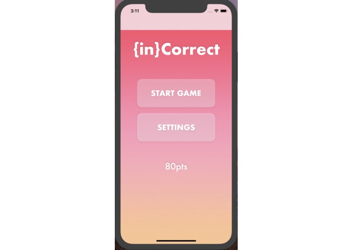 {in}Correct Quiz App – screenshot 2