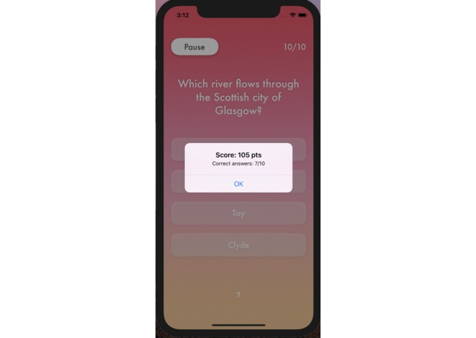 {in}Correct Quiz App – screenshot 6